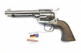 Plynový revolver Weihrauch Western S.A. steel cal. 9mm