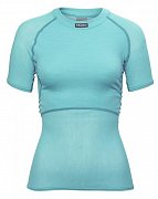 Dámské triko BRYNJE CLASSIC WOOL THERMO LIGHT T-SHIRT aqua XS