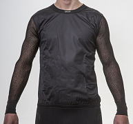 Triko s dlouhým rukávem BRYNJE SUPER THERMO SHIRT WINDFRONT black