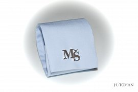 Custom Made 925 Solid Silver Cufflinks with monogram