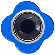 Cutesy Blue Flower Lapel Pin