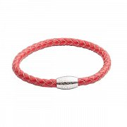 Kitoko Red Leather Bracelet