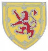 Scottish Lion Shield Lapel Pin