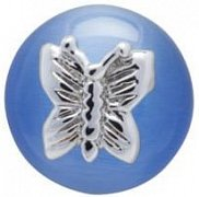 Sky Blue Butterfly Lapel Pin