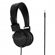 Batman Teen Headphones Black Logo
