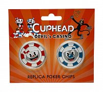 Cuphead Replicas Devil\'s Casino Poker Chips