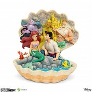 Disney Statue Shell Scene (The Little Mermaid) 20 cm --- DAMAGED PACKAGING