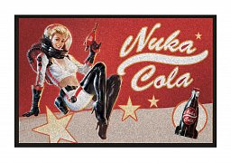 Fallout Doormat Nuka Cola Pin-Up 80 x 50 cm