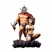 Frazetta Legacy Series Statue 1/4 The Swordsman of Mars 53 cm