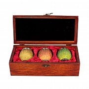 Game of Thrones Shot Glass 3-Pack Dragon Eggs