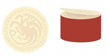 Game of Thrones Sticky Notes Cube Targaryen