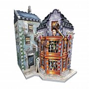 Harry Potter 3D Puzzle DAC Weasley\'s Wizard Wheezes & Daily Prophet