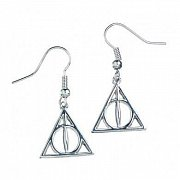 Harry Potter Deathly Hallows Earrings (silver plated)