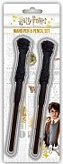 Harry Potter Harry Wand Pen & Pencil Set