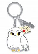 Harry Potter Metal Keychain Hedwig