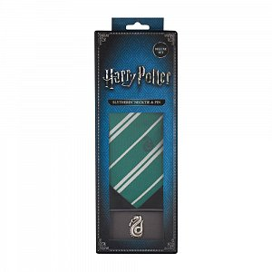 Harry Potter Tie & Metal Pin Deluxe Box Slytherin - 6
