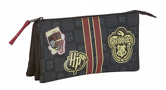 Harry Potter Triple Pencil Case Gryffindor