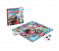 Miraculous: Tales of Ladybug & Cat Noir Board Game Monopoly Junior *French Version*