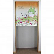 My Neighbor Totoro Japanese Doorway Curtain Totoro & Cosmos