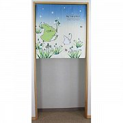 My Neighbor Totoro Japanese Doorway Curtain Totoro & Snow Drop