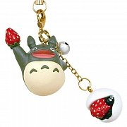 My Neighbor Totoro Japanese Sweet Series Strap Strawberry Rice Cake 11 cm