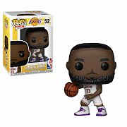 NBA POP! Sports Vinyl Figure LeBron James White Uniform (Lakers) 9 cm