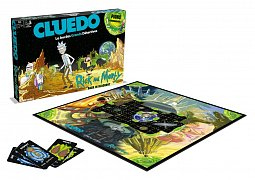 Rick & Morty Board Game Clue *French Version*