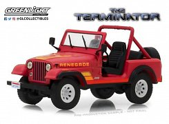Terminator Diecast Model 1/43 1983 Sarah Conner\'s Jeep CJ-7