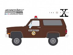 The X-Files Diecast Model 1/64 1981 Chevrolet K-5 Blazer Sheriff