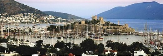 Bodrum Port, Turkey